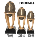 FOOTBALL TOWER RESIN TROPHY AWARDS