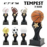 Tempest Series Sport Resin Awards | 7 STYLES | 3 SIZES