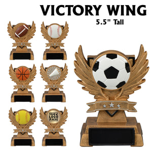 Victory Wing Series Sport Activity Resin Awards | 7 STYLES