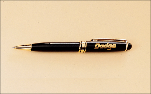 Airflyte Euro Style PENCIL Black and Gold Brass