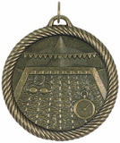 "2"" VM Series Swimming Award Medals on 7/8"" Neck Ribbons"
