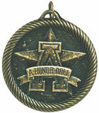 "2"" VM Series A Honor Roll Award Medals on 7/8"" Neck Ribbons"