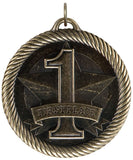 "2"" VM Series 1st Place Medals on 7/8"" Neck Ribbons"