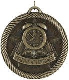 "2"" VM Series Perfect Attendance Award Medals on 7/8"" Neck Ribbons"
