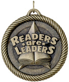 "2"" VM Series Reders are Leaders Award Medals on 7/8"" Neck Ribbons"