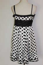 Load image into Gallery viewer, Polka Dot (Black & White) dress Size 14 *CLEARANCE*