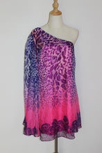 Load image into Gallery viewer, Pink & Purple Roses Dress Size 8 & 14 *CLEARANCE*