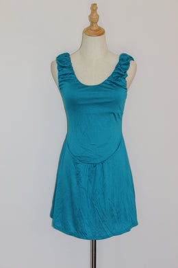 Turquoise Day Dress (size 8 & 14) *CLEARANCE*