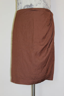Witchery Whiskey Wrap Skirt Size M