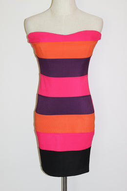 Vibrant Tube Dress Size Sml *CLEARANCE*