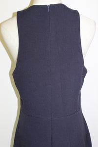 Bec & Bridge Navy Zip Split Dress Size 12 *Clearance*