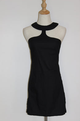 Alice McCall Black Choker Dress - Size 6