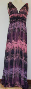 Purple Shades Maxi Dress Size 10 & 12 * CLEARANCE*