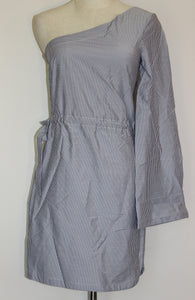 Elka Collective Adaliz Blue Stripe Dress Size 8