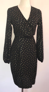 Atmos& Here Grace Wrap Dress Size 8
