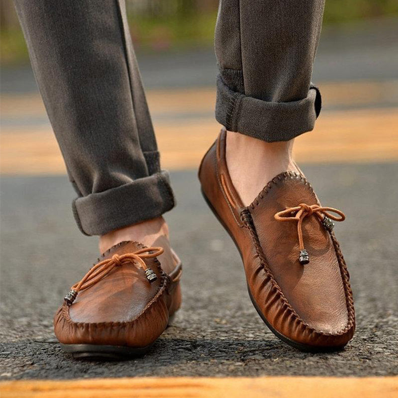 Men's Vintage Classic Soft Slip On Casual Loafers
