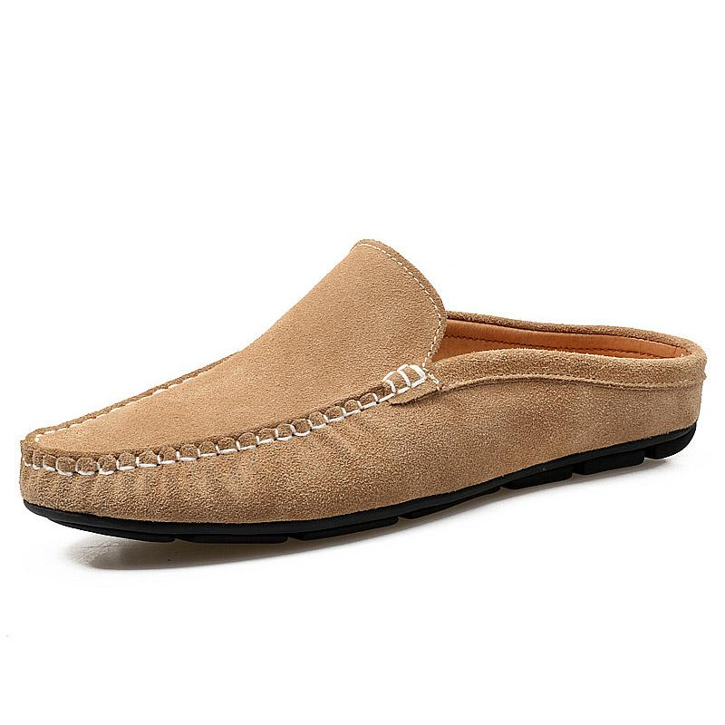 Men Suede Muller Shoes