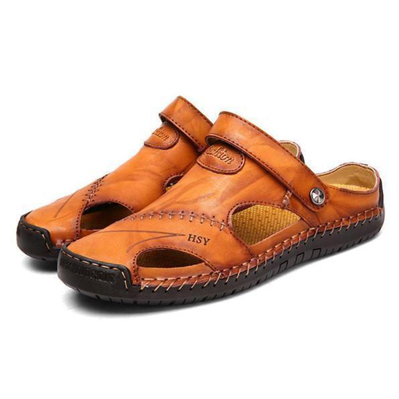 Men's Outdoor Leather Sandals