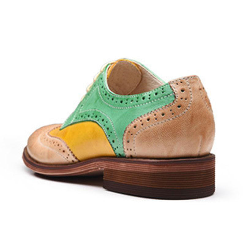 Colorblocked Brock Women's Leather Shoes