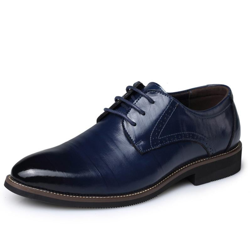 Men Pointed Business Dress Shoes