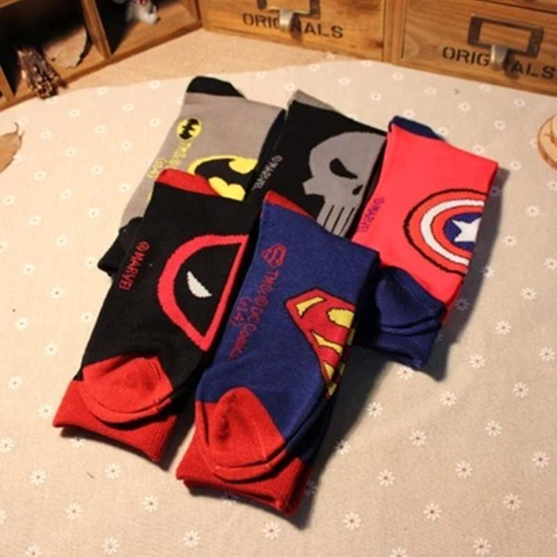Men Marvel&DC Socks