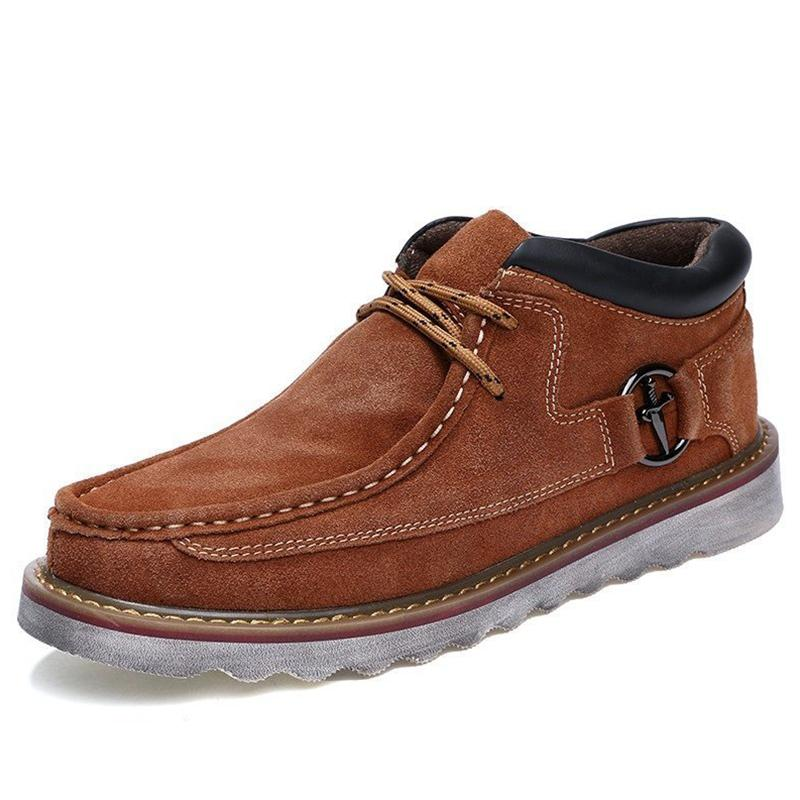 Men's Suede Casual Shoes