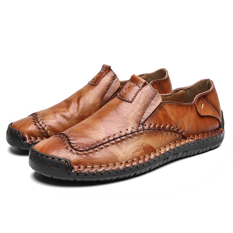 Men Non-Slip Leather Casual Shoes