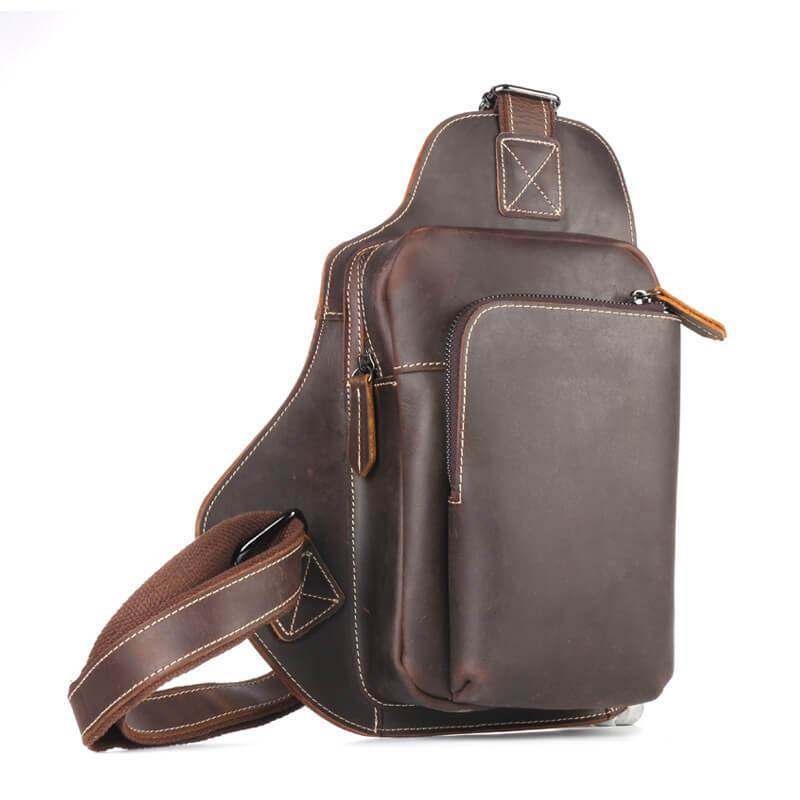 Men Leather Crossbody Bag