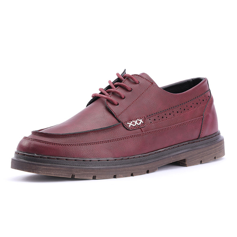 Men Vintage Leather Casual Shoes