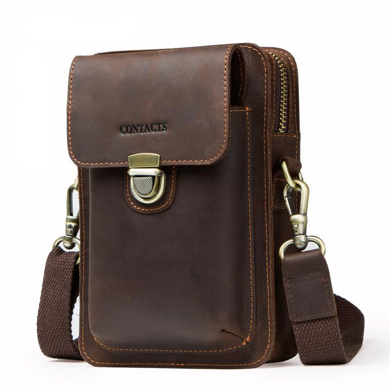 Men Crossbody Backpack Pocket