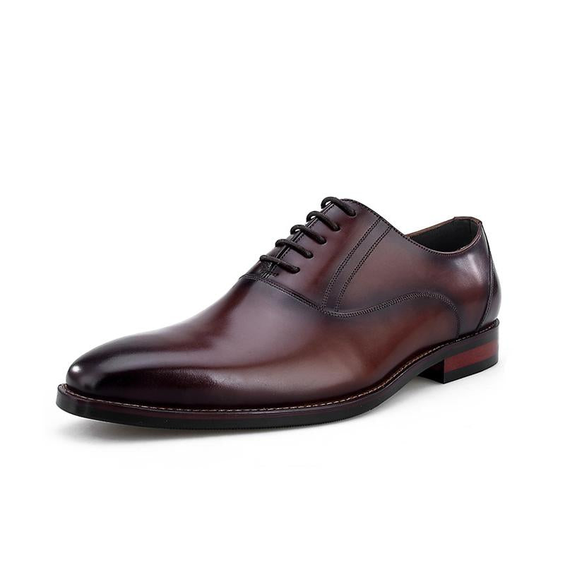 Men Business Casual Leather Dress Shoes