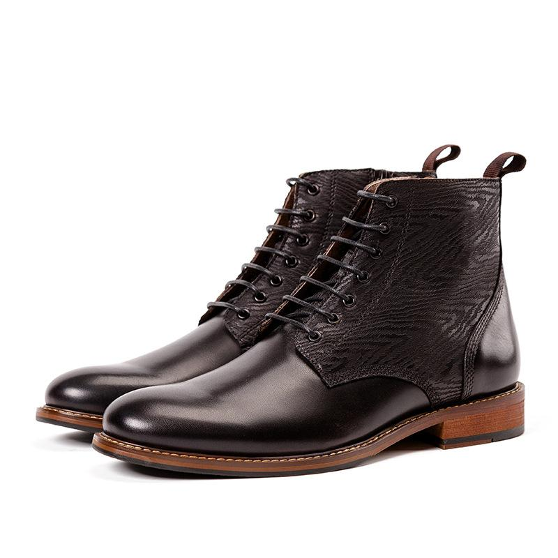 Men British Style Martin Boots
