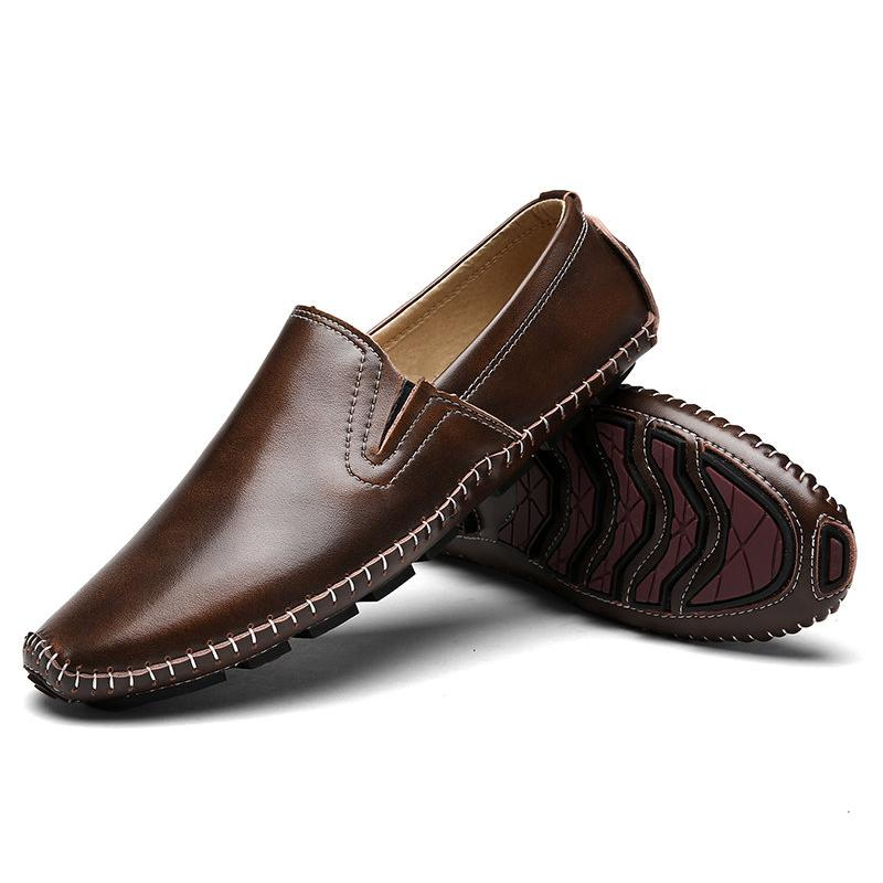Driving Men Leather Shoes