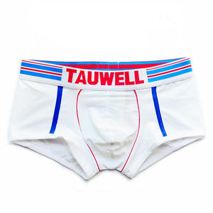 Cotton Men Low Waist Boxer Briefs
