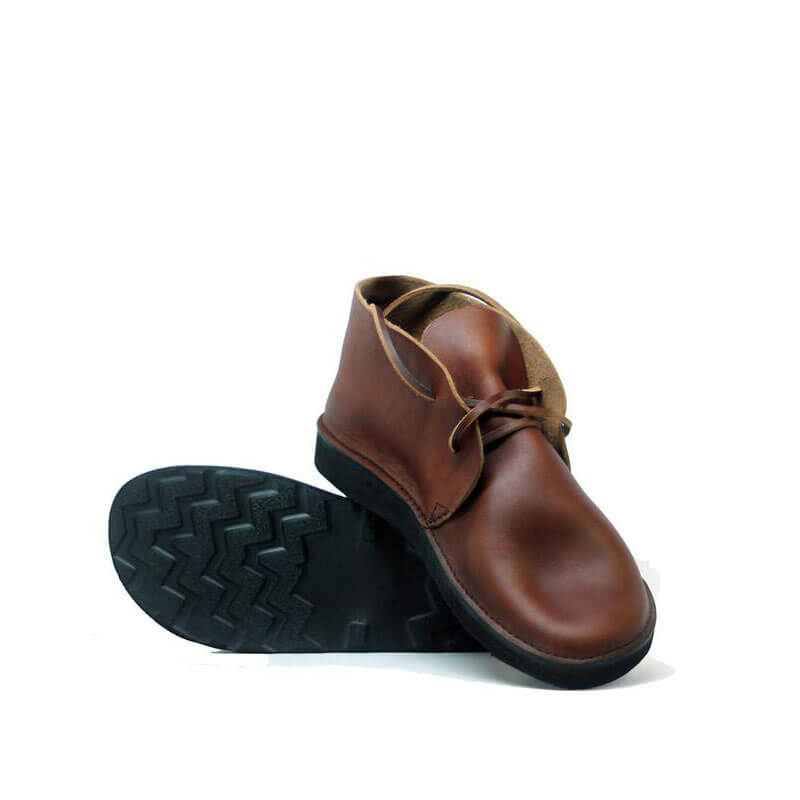 Men Casual Soft Toe Bread Leather Boots