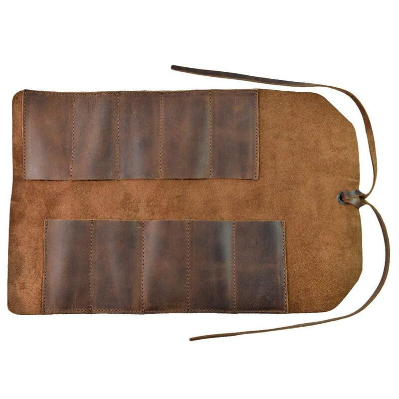 Retro Leather Tool Roll