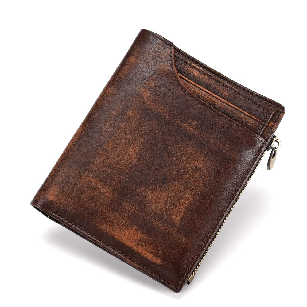 Handmade Retro Leather Wallet