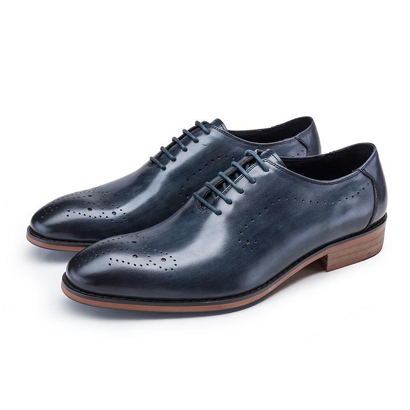 Men Leather Oxford Shoes