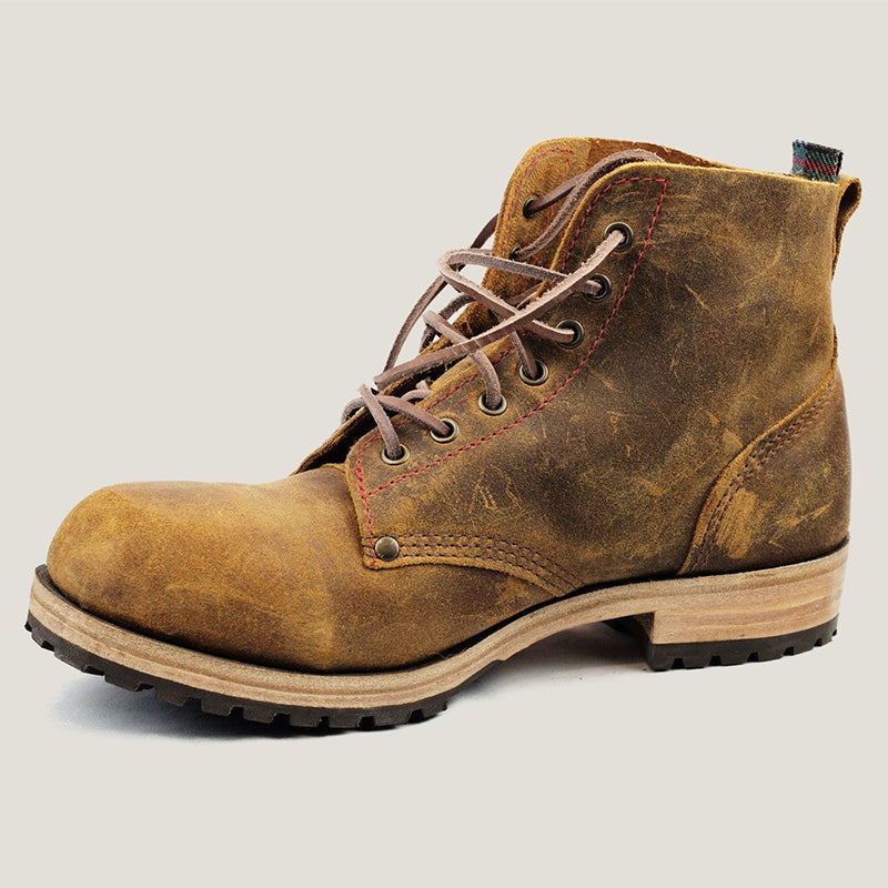 Men's Suede Lace-up Boot