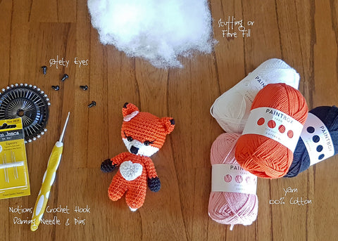 What I need to make the baby fox