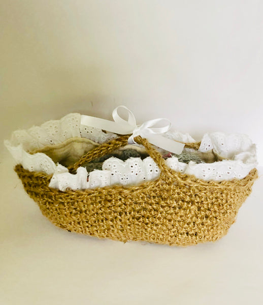 Baby Animal Moses Basket