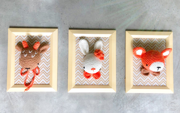 Framed Woodland Animals