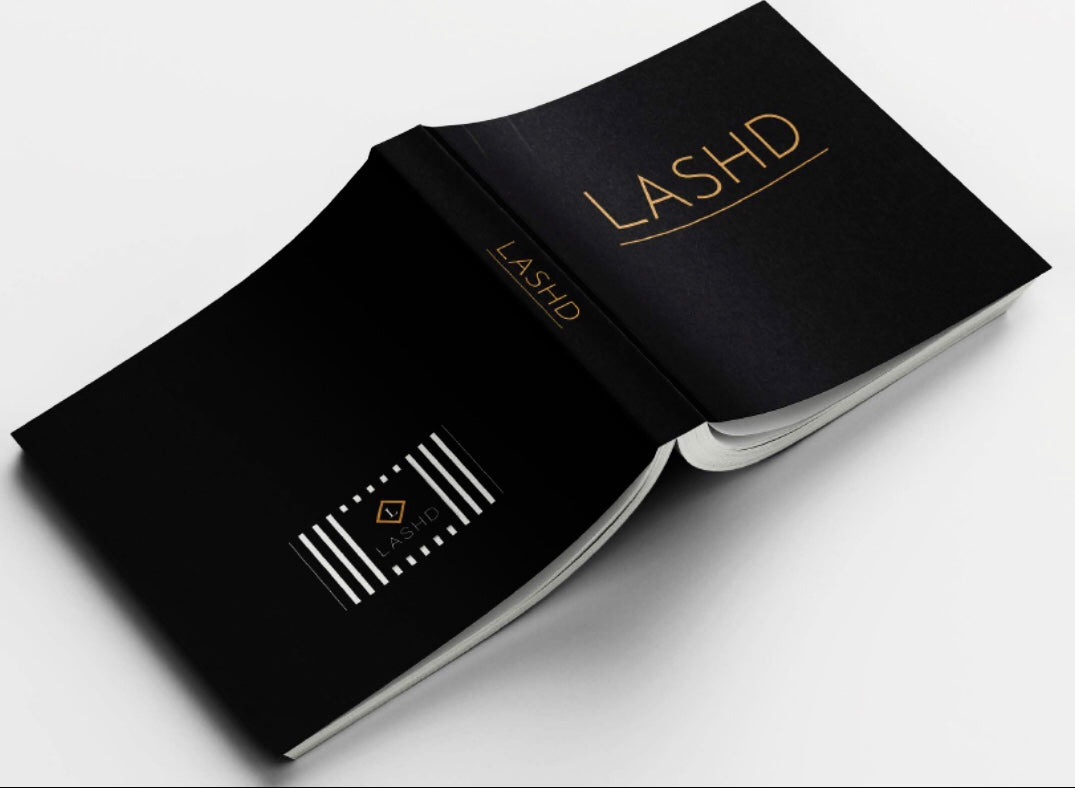 LASHD Coffee Table Book - LIMITED EDITION