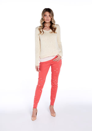 Sweater with Sequins - guimanos-store