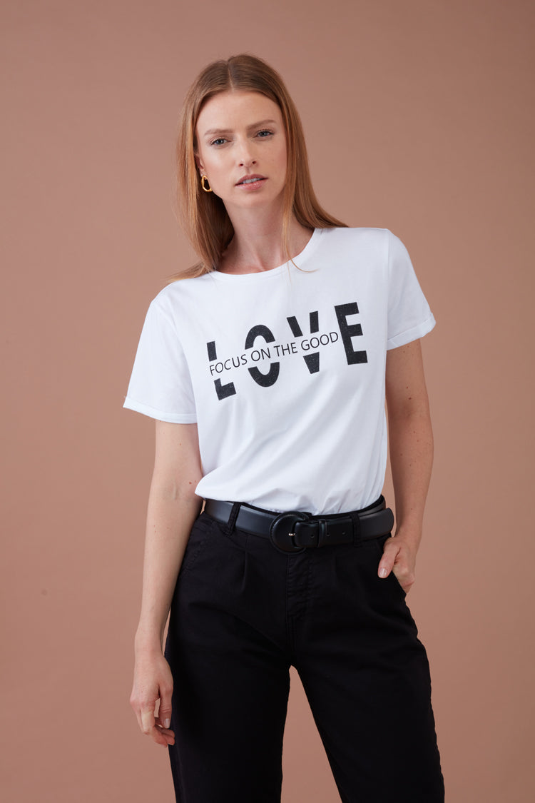 T-Shirt Love Focus