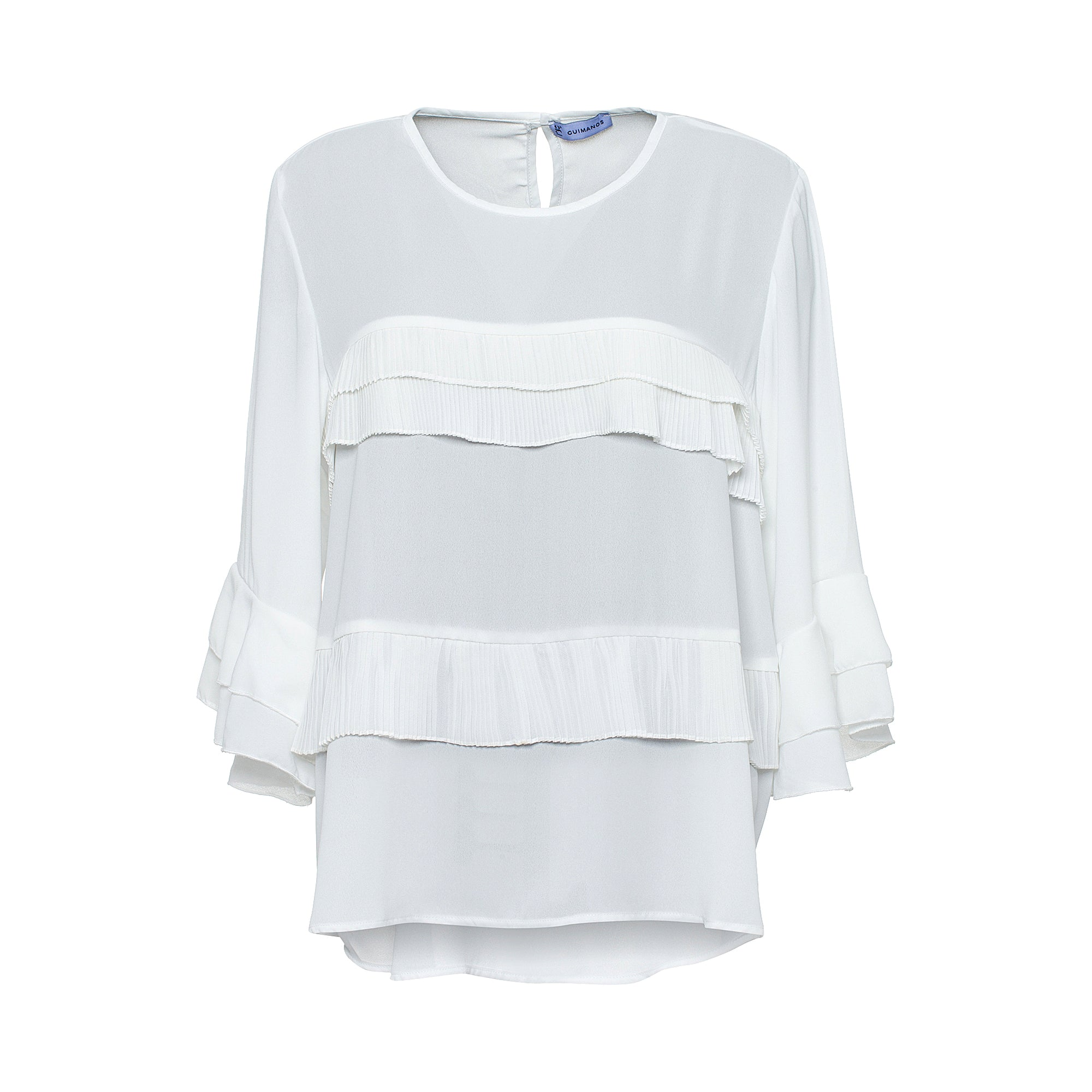 Frilled Blouse - guimanos-store