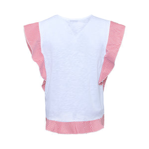 Frilled T-shirt - guimanos-store