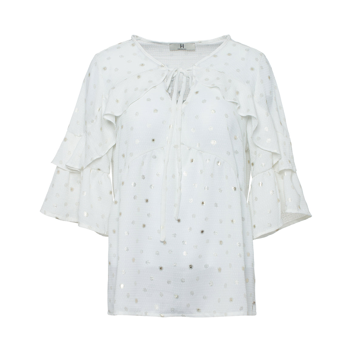 Blouse with Dots - guimanos-store