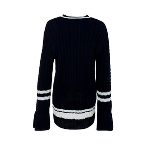 Navy Blue Sweater - guimanos-store