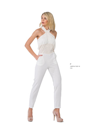 Jumpsuit with Fringing